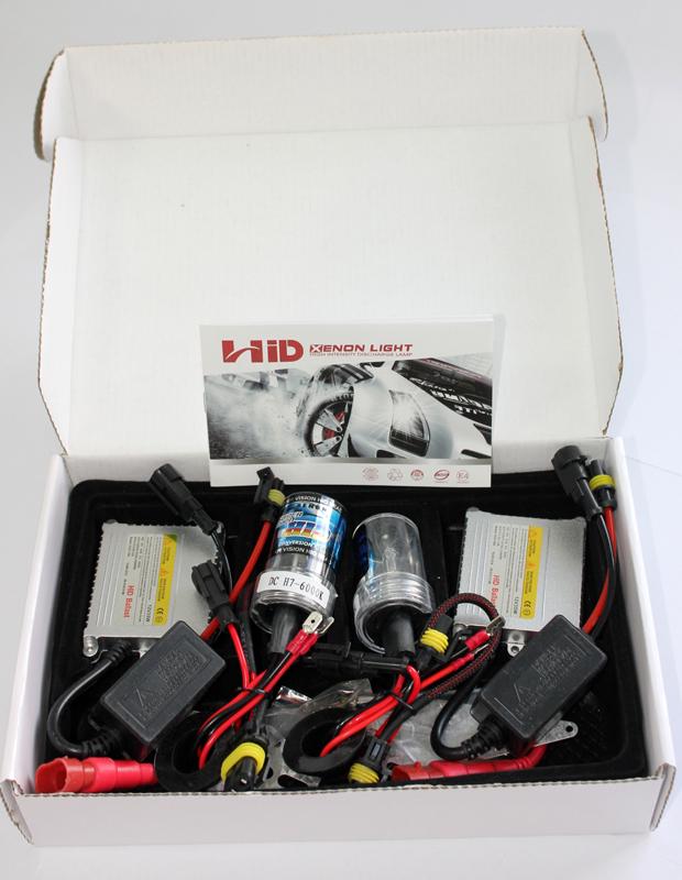 Xenon set DC H7 6000K