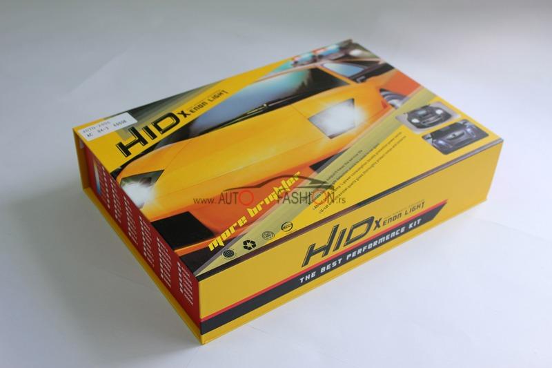 Xenon H4-3 set AC 6000K