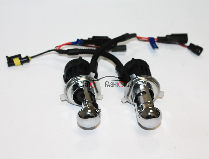 Xenon set AC H4-3 35W 6000K
