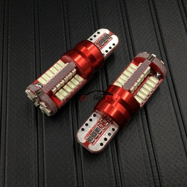 LED sijalica T10 57 dioda SUPER WHITE  / CANBUS