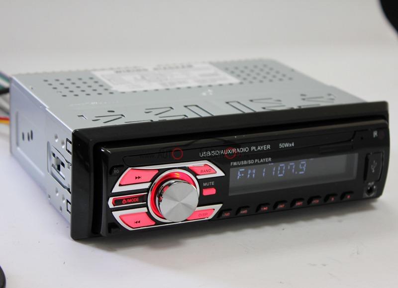 Auto radio – pločica se skida