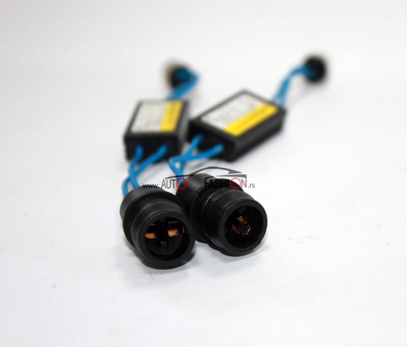 CANBUS kabal dekoder za LED sijalicu – prelaz sa BA9s na T10