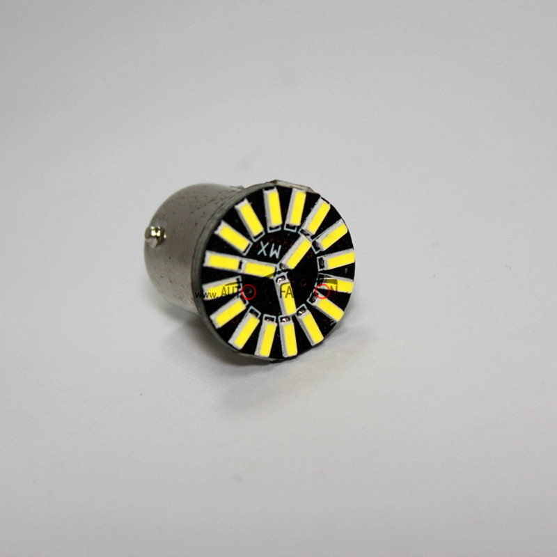 LED sijalica BA15S 19 dioda canbus 2 vlakna