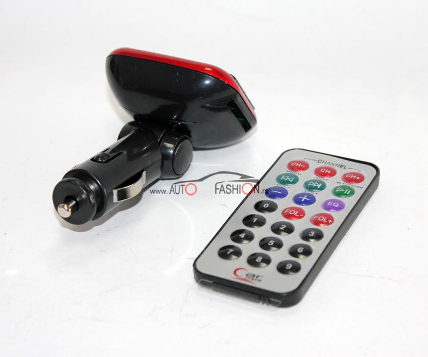 Auto MP3 modulator 12V / USB, SD card