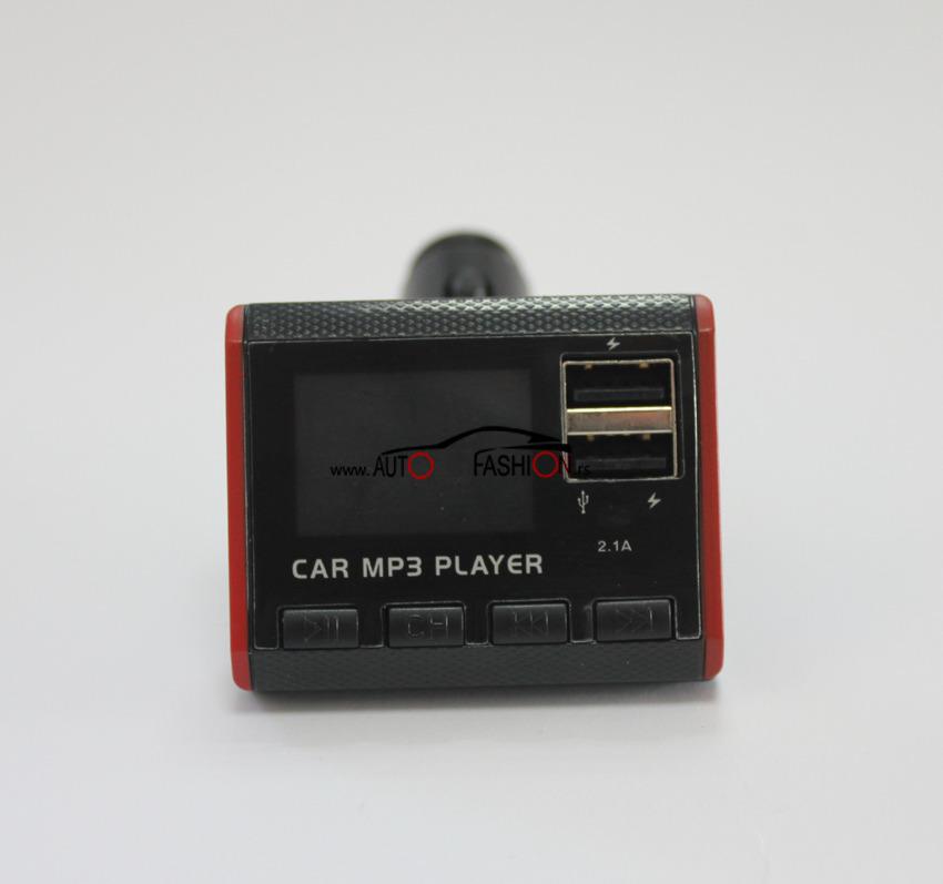 Auto MP3 modulator 12V-24V /2xUSB, SD card, AUX