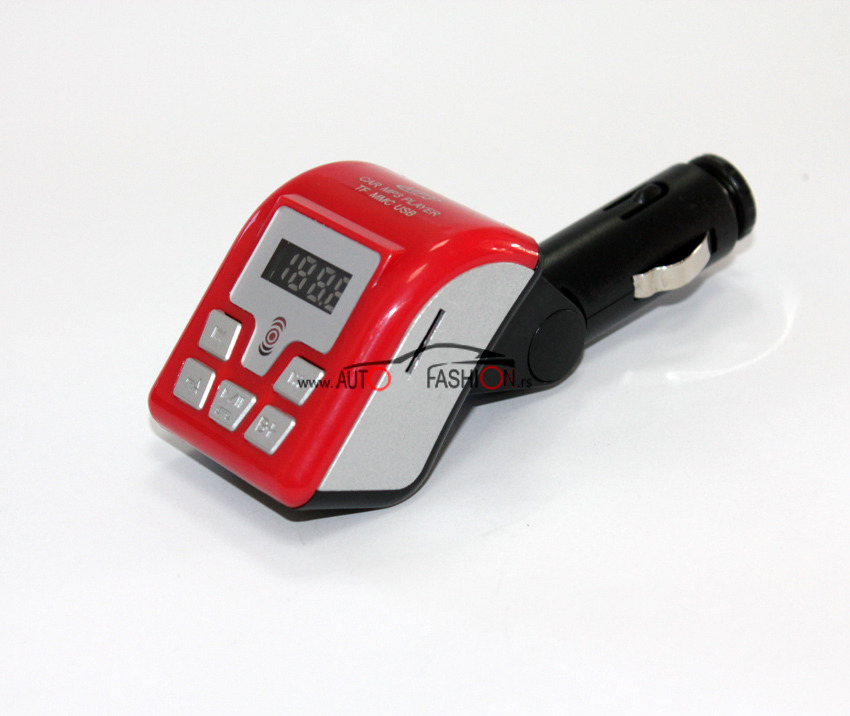 Auto MP3 BLUETOOTH modulator 12V / USB, SD card slot