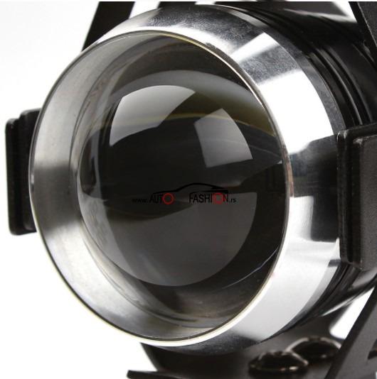 LED svetlo SOČIVO za motor  10W