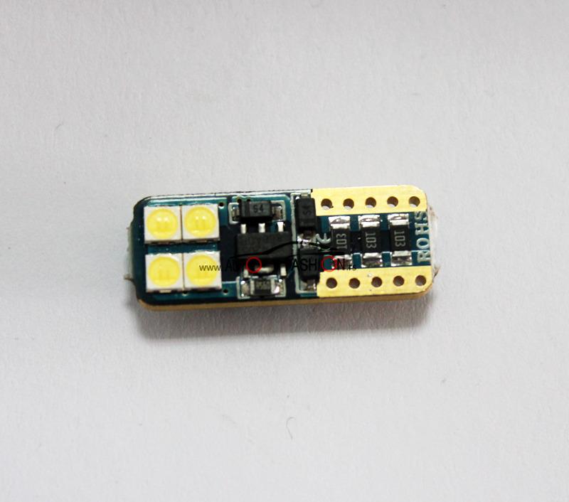 LED sijalica T10 8 dioda NEW extremno jaka FIAT / CANBUS