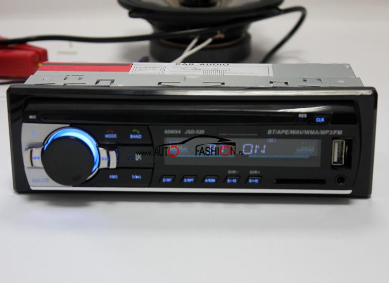 BLUTUT auto radio 4x60W