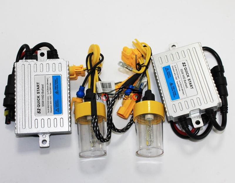 Xenon set AC FAST H7 5500K 55W za brzo paljenje 0,0s