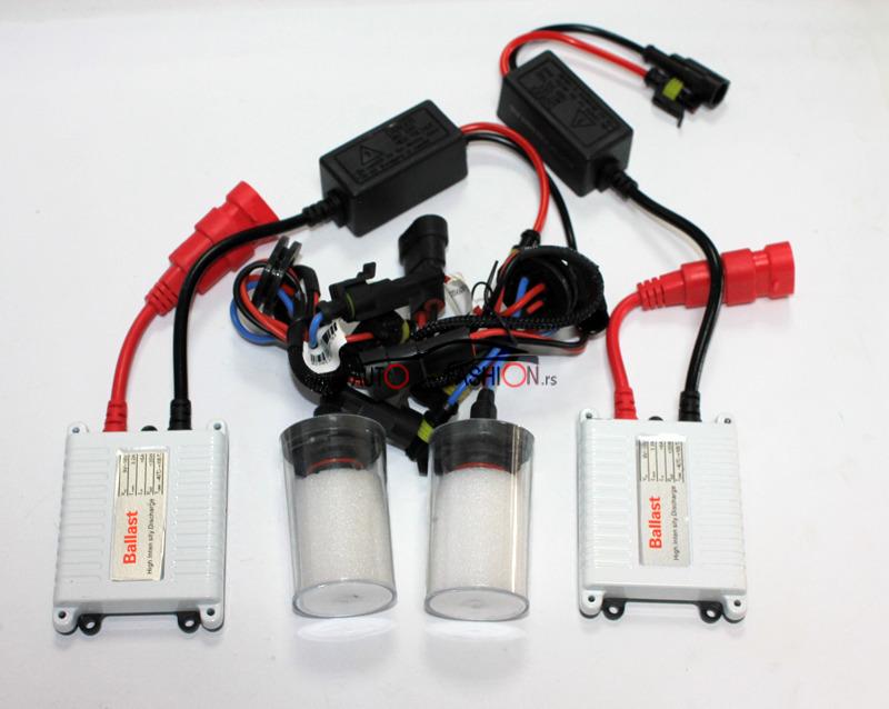 Xenon set AC 9005 35W 4300K