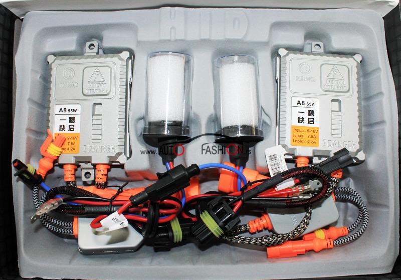 Xenon set  AC H1 55W 6000K FAST