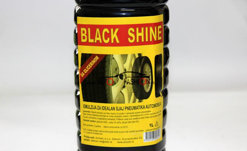 Glicerinsko ulje za sjaj pneumatika / BLACK SHINE 1l
