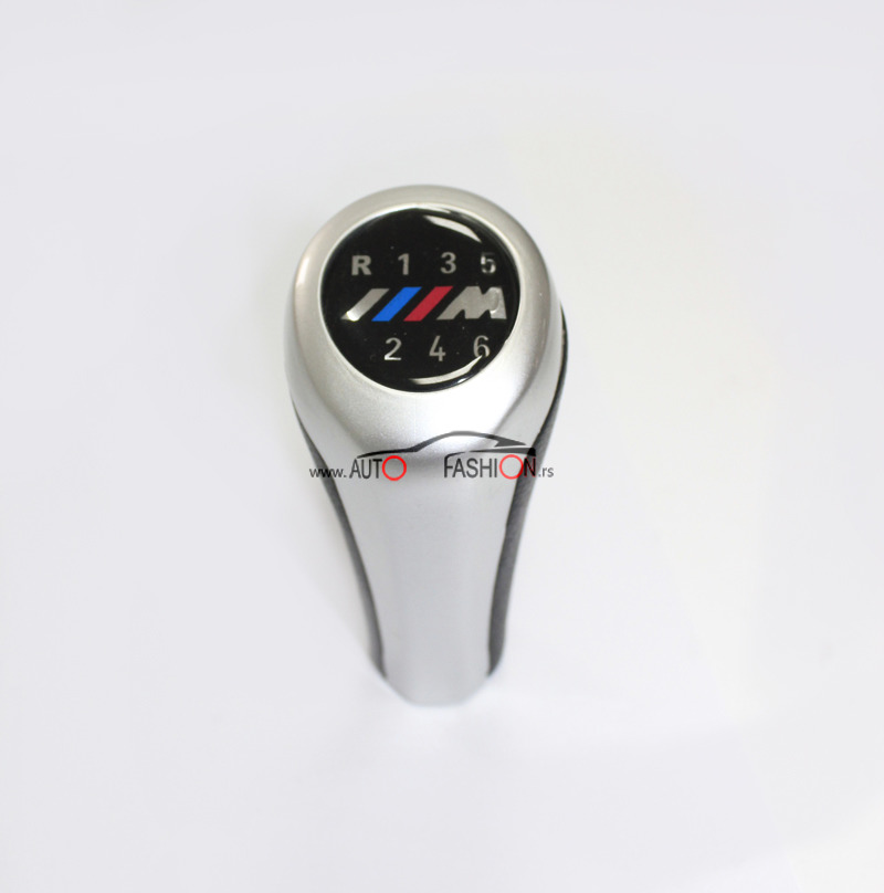 BMW M ručica menjača siva/mat 6 brzina