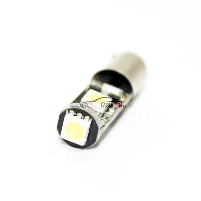 LED sijalica BA9S 3 diode CANBUS