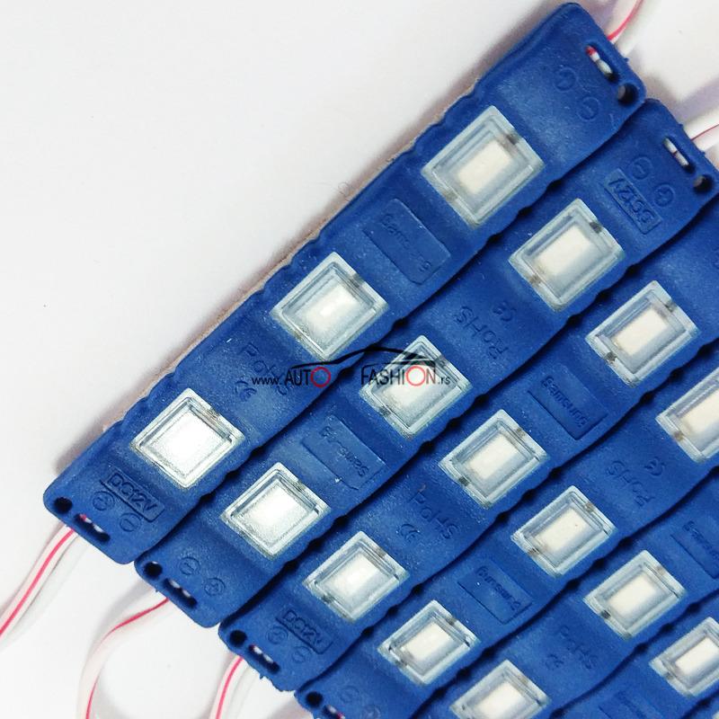 LED PLOČICA 3 reda – plavo svetlo