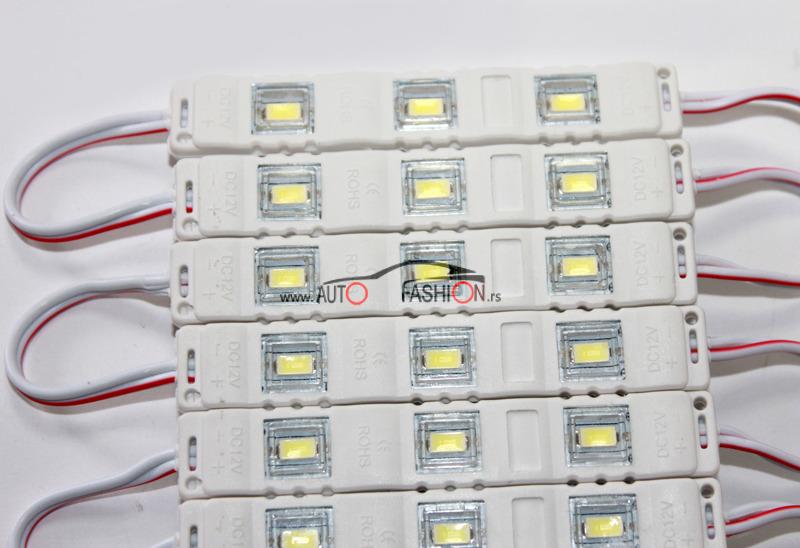 LED PLOČICA 3 reda – belo svetlo