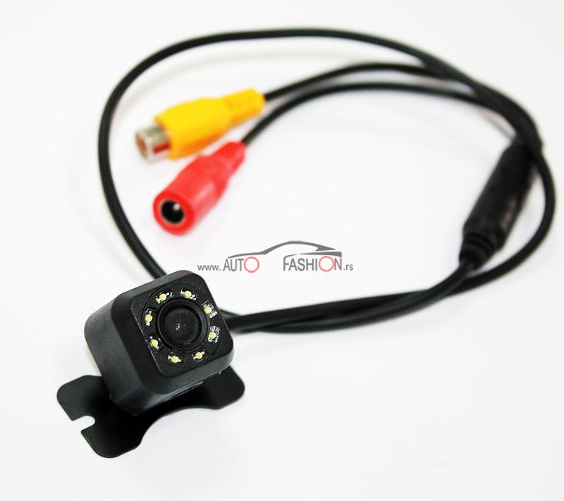 Kamera za parkiranje univerzalna na kačenje sa LED diodama – KOCKICA