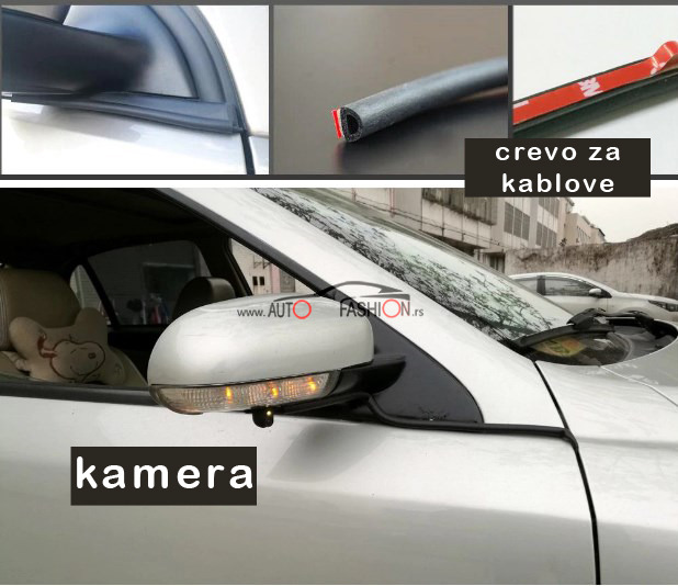 Kamera za mrtav ugao – za retrovizor