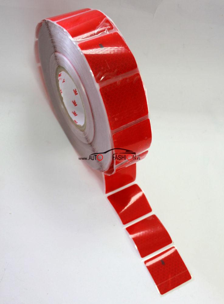 3M reflektujuća traka za prikolicu CRVENA segmentna