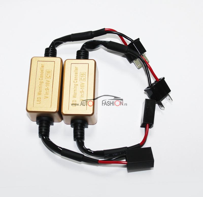 C16 Dekoderi – poništivači greške za LED sijalice