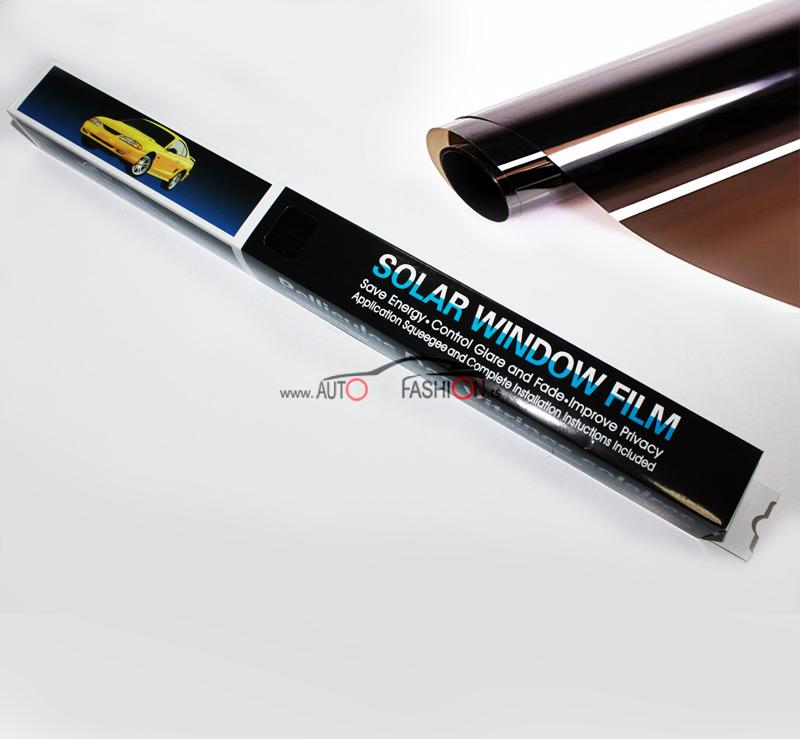 Folija za zatamnjivanje stakla SUPER DARK BLACK