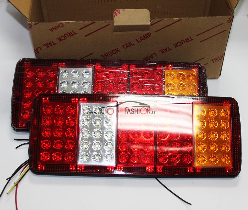 Kamionska štop lampa LED 5 polja 3422