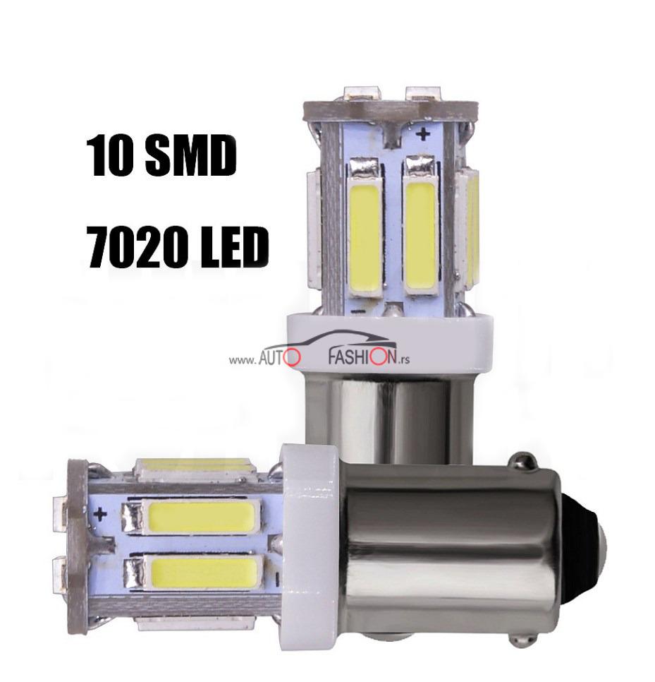 LED SIJALICA BA9S 10 dioda