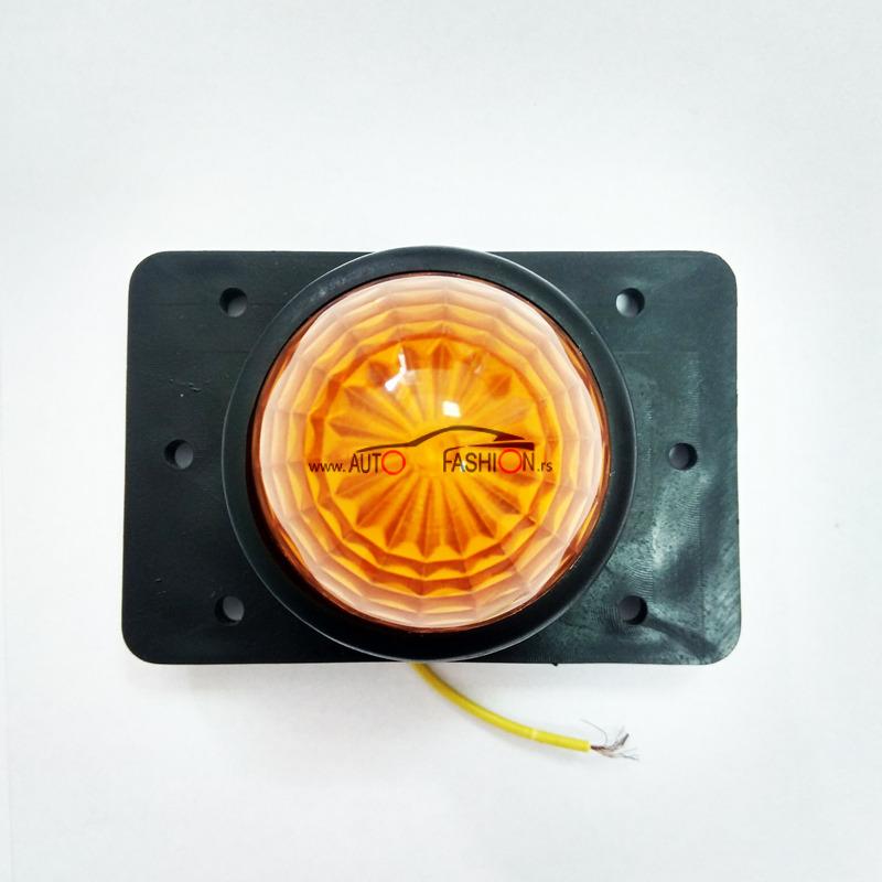 LED GABARIT SKT PLITKI ŽUTI 12/24V 6.5CM