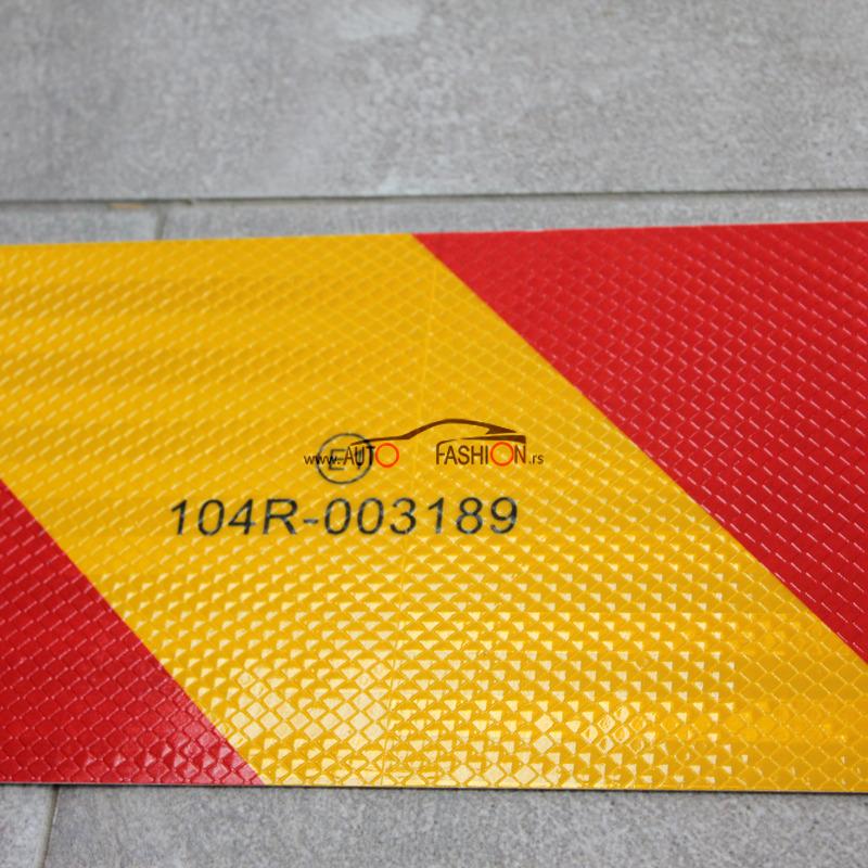 Tabla za obeležavanje kamiona prikolica-MODEL 1.