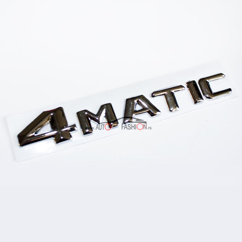 Natpis 4 MATIC 14cm