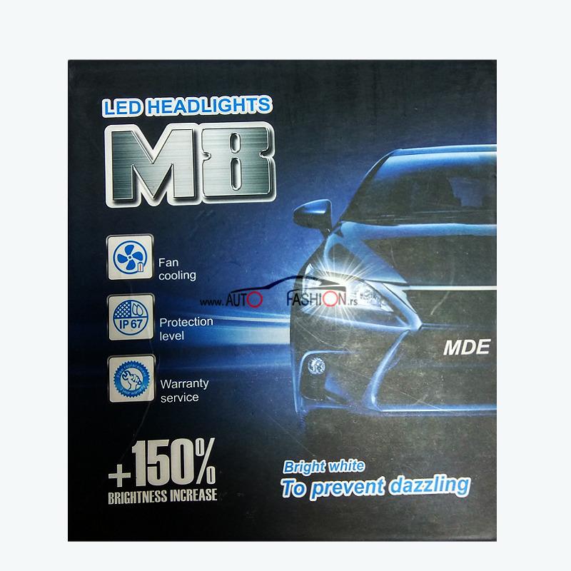 LED M8 – D2S, D2R  canbus DIAMOND SET