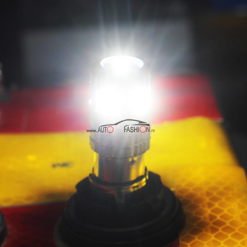 LED sijalica BA15S P21W CANBUS 7 smd LUX