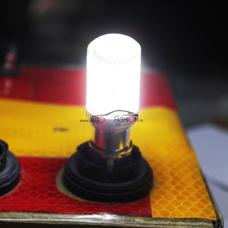 LED sijalica BA15S P21W CANBUS LUX staklena