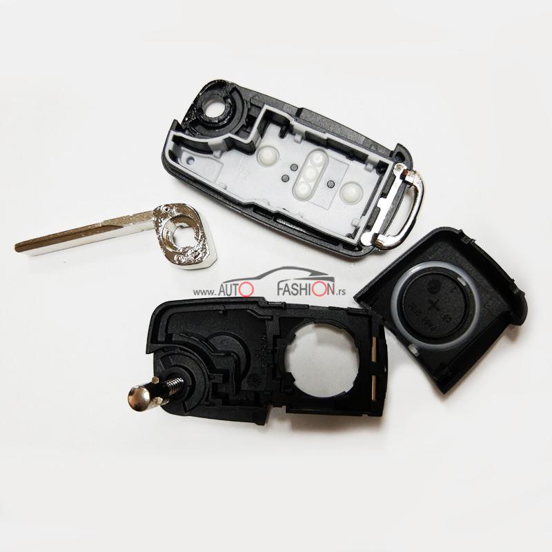 Kućište ključa VW SKAKAVAC dva tastera PREMIUM
