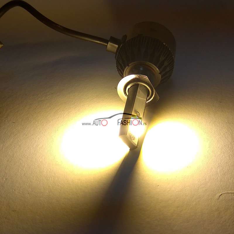 LED set H7 DOUBLE LIGHT C9S