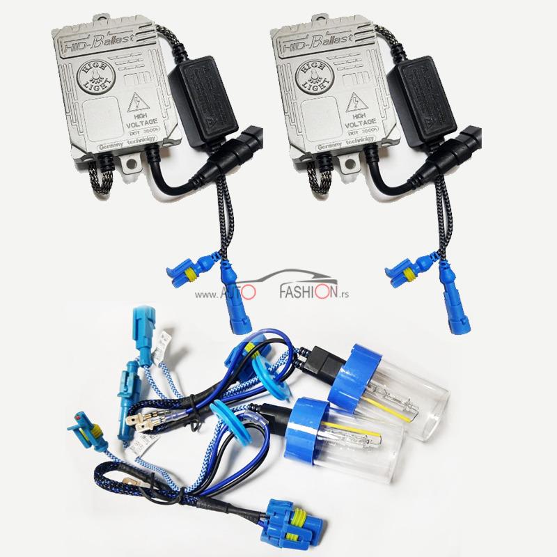 Xenon H1 55W AC CANBUS set