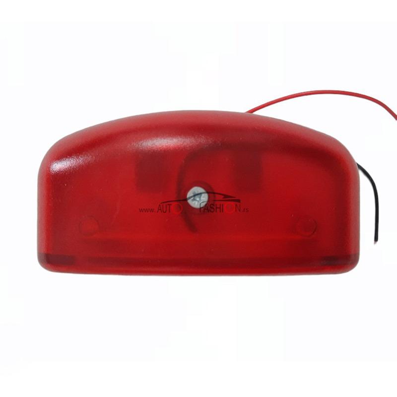 Gabarit LED FORMAPLAST svetlo tablice 12-24V crvena plastika